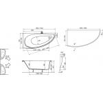 Vana AVOCADO + čelní panel + umyvadlo